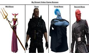 My Video Game Bosses Meme by greece4life