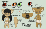 Teiens Reference and Notes by FreckledAndSpeckled