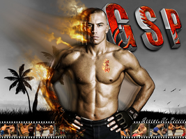 Georges Saint Pierre by CHINOGUY