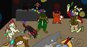 RoA iscribble rave by EvilPurity