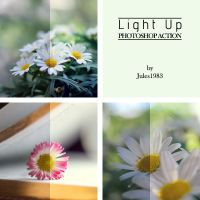 Light Up Photoshop Action by Jules1983