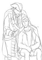 Keep warm_Haytham/Desmond by kelardidv