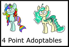 4 Point Adoptables by Chickfila-Chick