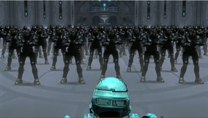 RvB 1000 Tex Army vs Carolina by Dustiniz117