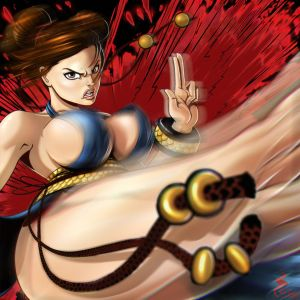 Chun-Li Attacks by Holyengine