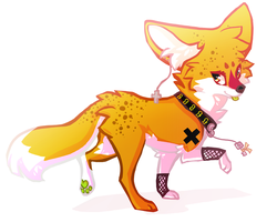 Chibi for Kitsunesprite by PitaBred