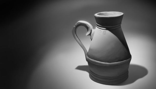 Vase Still life by Wacov