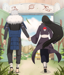 CM: Tobirama and Mari Uchiha by Ria02716