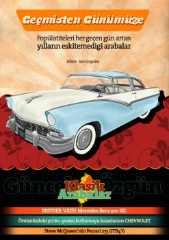 Classical Cars Magazine Cover by renklisayfa