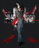 Sweeney Todd: the demon barber by fullmetalschoettle