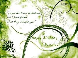 Pakistan Birthday by creativefad
