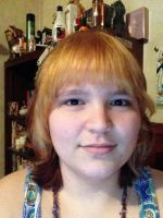 Hair cut and dyed by MionOfDeath