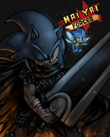 Sonic Hai Yai Forces by f-sonic
