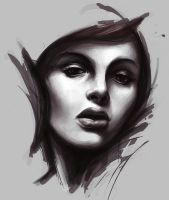 Face study 05 by Madec-Brice