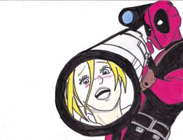 (Attack On Deadpool) This Is For Petra by The4StarGeneral
