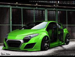 AM Renault Megane SHOWCAR FV by adrianmolina