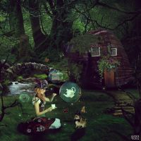 While deep in the Jungle by m3l0dycute
