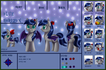 Ref Sheet: Blue Horizon by pridark
