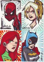 Spidy and friends by LanceSawyer