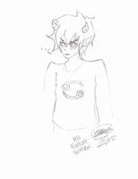 Karkat by The-White-Death