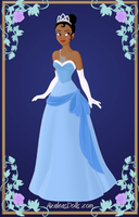 Tiana { Blue Dress } by kawaiibrit