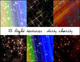 Star Light Textures - Set 1 by DirtyCharity