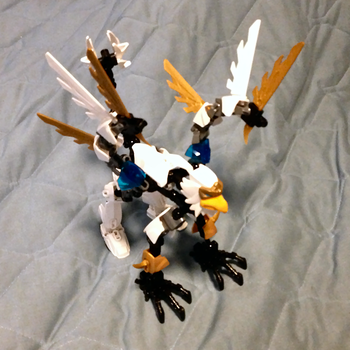 Custom LEGO griffon by EarlMcClaw