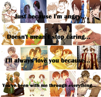 APH: Romano's True Feelings by 2ne1kpoprockergirl