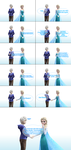 MMD Frozen-RotG Comic - Just friends by JackFrostOverland