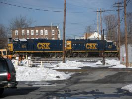 CSX Geeps Roll Out by rlkitterman