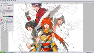 ++ WIP: Tales of Time ++ by Zuhrah