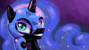 Nightmare Moon Portrait by KP-ShadowSquirrel
