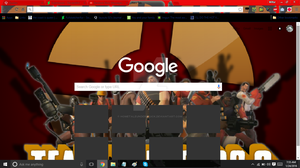 TF2 Google Chrome Theme (P2U) by HomeTaleUnderStuck