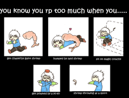 5 ways to know you rp too much by kungfudemoness