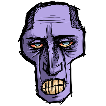 Desmond the Face by bleachedb0nes