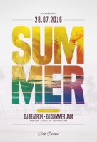 Summer Flyer Template by styleWish