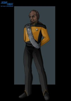 lieutenant commander worf by nightwing1975
