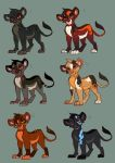 Lion Adoptables -POINTS- by Kitchiki