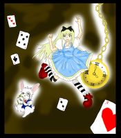 Alice In WonderLand by Fiftyshadesofkay