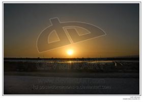 ladie's mile sunset print by Scapes-club