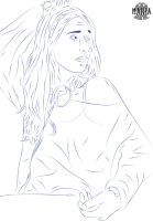 First Lineart Work by ManiaGraphic