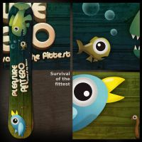 """Board  """"Survival o.t. fittest"""" by B3Ns"""