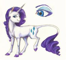 Headcanon: Rarity by Earthsong9405