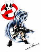 Ponyville Ghostbusters: Aquari commission by EuropaMaxima