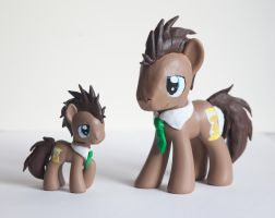 The Doctors .:MLP Custom Figures:. by alltheApples