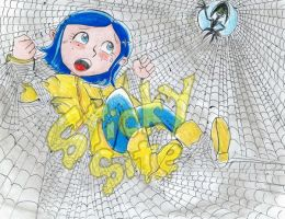 Coraline caught by yomerome