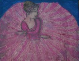ballerina in pink by ingeline-art