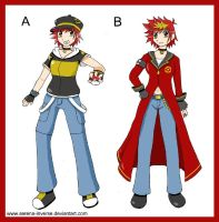Which Trainer Outfit- Colour by serena-inverse