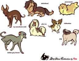 Dogs complete,,,,, by mofuwa