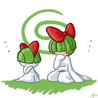 280 Ralts by PowderRune